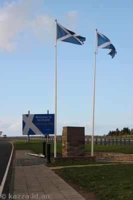 Scottish border