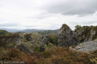 Quarry off Duke's Pass near Aberfoyle