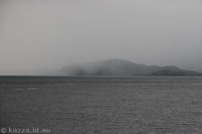 Bleak looking Loch Linnhe
