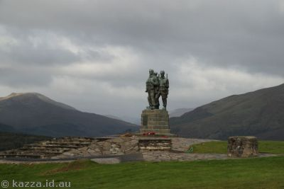 Commando Memorial near Spean Bridge