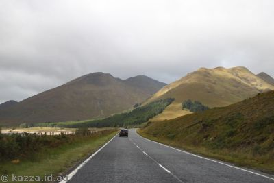 Hills around Loch Cluanie