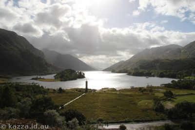 Loch Shiel from the lookout