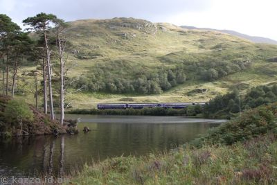 Train near Loch Eilt