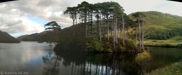 Loch Eilt, featured in Harry Potter and the Prisoner of Azkaban