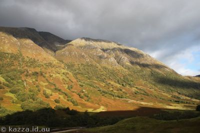 Hills in Glen Nevis, featured as backdrops for Quidditch in Philosopher's Stone