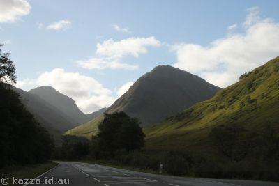 Hills near Glencoe