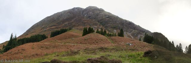 Hill behind Clachaig Inn used in Prizoner of Azkaban
