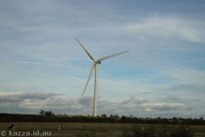 Wind turbine south of Glasgow