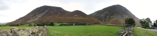 Hills off B5289 near Crummock Water