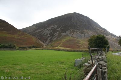 Fields off B5289 near Crummock Water