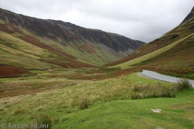 Heading up Honister Pass