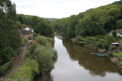 River Severn from Iron Bridge