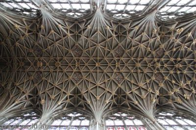 Roof of Gloucester Cathedral