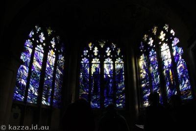 Stained glass in Gloucester Cathedral