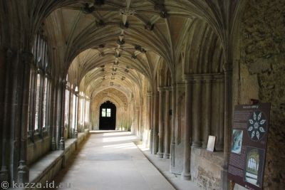 Corridor in Lacock Abbey