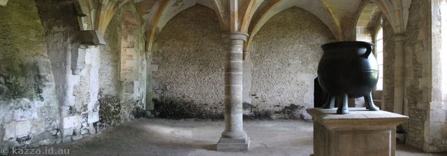 Warming House, Lacock Abbey