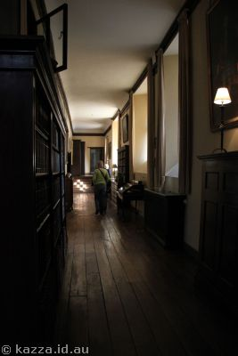 Corridor upstairs in Lacock Abbey