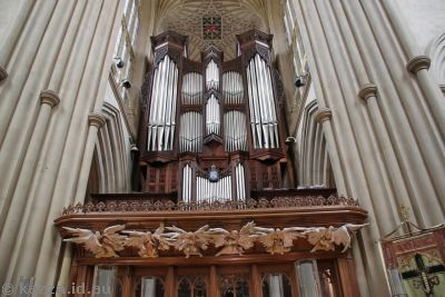 Organ in Bath Abbey