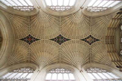 Ceiling of Bath Abbey