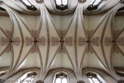 Ceiling of Wells Cathedral
