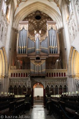 Organ of Wells Cathedral