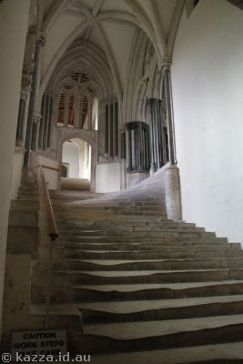 Stairs to the Chapter House