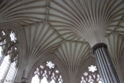 Chapter House.  Stunningly beautiful, but I needed a wider lens!