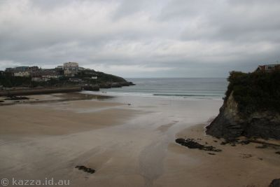 Beach at Newquay