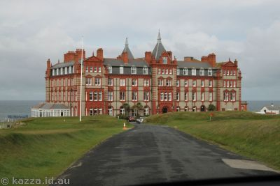 Headland Hotel, Newquay, used in the 1990 movie