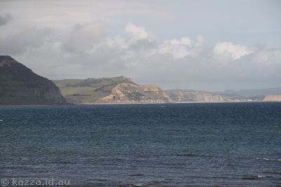 Cliffs at Lyme Regis