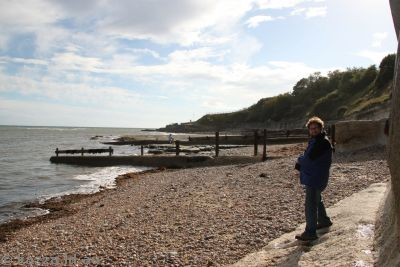 Stu at Lyme Regis