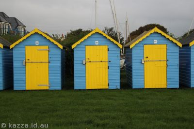 Bathing Boxes at Bognor Regis