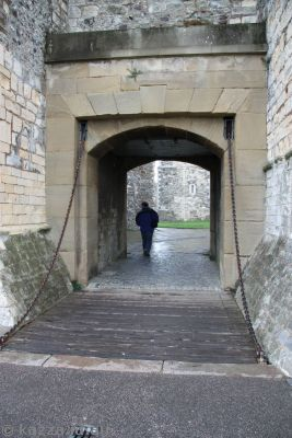 Entrance gate at Dover Castle
