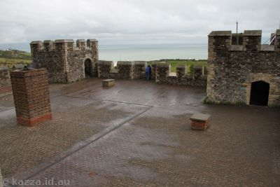 Top of Dover Castle