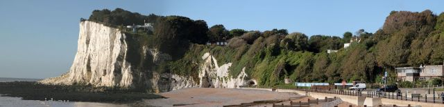 White Cliffs of Dover at St Margaret's Bay