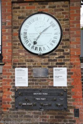 Shepherd 24-hour Gate Clock and Public Standards of Length