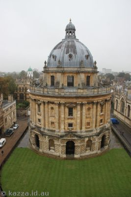 Radcliffe Camera from the University Church