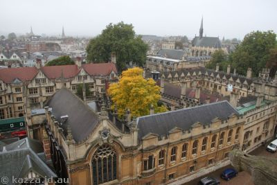 Looking into Brasenose College