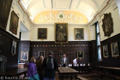 Jesus College dining hall