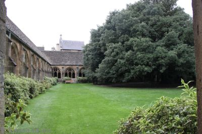 New College quadrangle