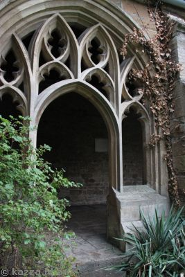 After talking to Cedric, Harry walks through this gate