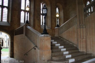 Steps used in the first two Harry Potter movies