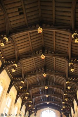 Christ Church ceiling - does it look anything like Hogwarts?
