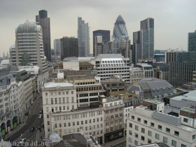London from Monument