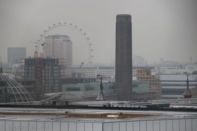 London Eye and Tate Modern