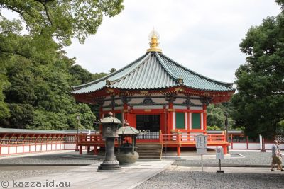 Temple area in Narita