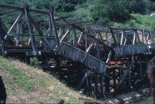 Collapsing bridge