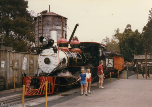 Steam train at Knott's Berry Farm