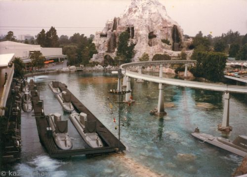 Submarine Base at Disneyland