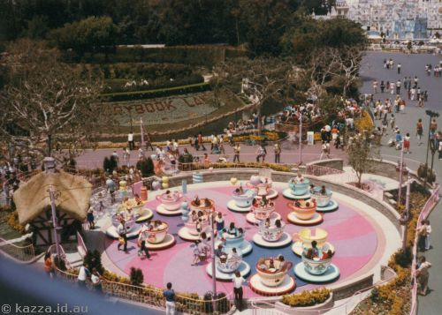 Cups and Saucers ride and Storybook Land from Gondola